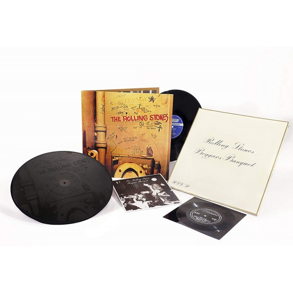 ROLLING STONES THE - Beggars Banquet Remastered (50th Annyversary Edt.lp+12''+flexy Disc)
