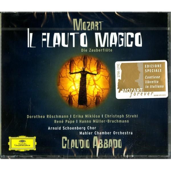 ABBADO CLAUDIO (DIRETTORE) - Il Flauto Magico (libretto Italiano)