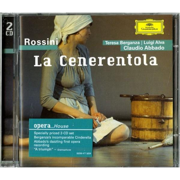 ABBADO CLAUDIO( DIRETTORE) BERGANZA TERESA( MEZZO SOPRANO) - La Cenerentola (opera Completa)