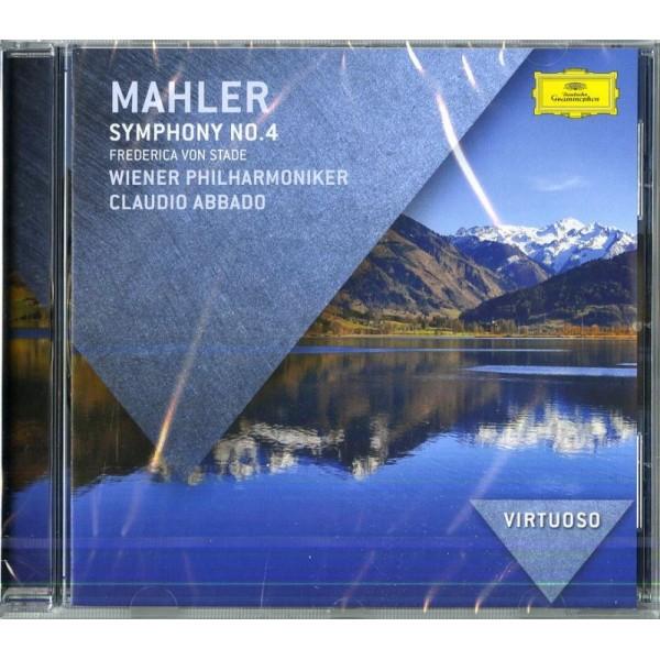 ABBADO( DIRETTORE) FREDERICA VON STADE( MEZZO SOPRANO) - Sinfonia N. 4 (symphony Nr.4)