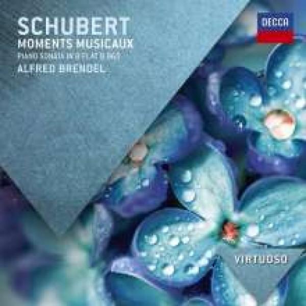 BRENDEL ALFRED (PIANO) - Moments Musicaux (6), D780, Op. 94,piano Sonata No. 21 In B Flat Major, D960