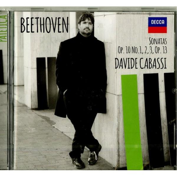 CABASSI DAVIDE (PIANO) - Sonatas Op.10 Nr.1,2,3 Son.nr.5,6,7,sonata Nr.8 Op.13 Patetica