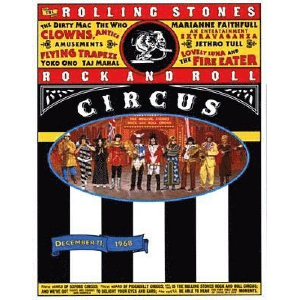 ROLLING STONES THE - Rock And Roll Circus (nuovo Mix Hd 192k 24bit Video 4k)