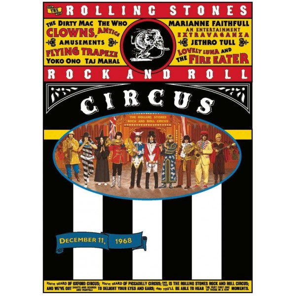ROLLING STONES THE - Rock And Roll Circus (dvd + B.ray + 2 Cd + Libro 44 Pagine Limited Edt.)