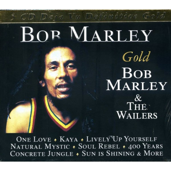 MARLEY BOB - Gold-bob Marley & The Wailers ( Box)