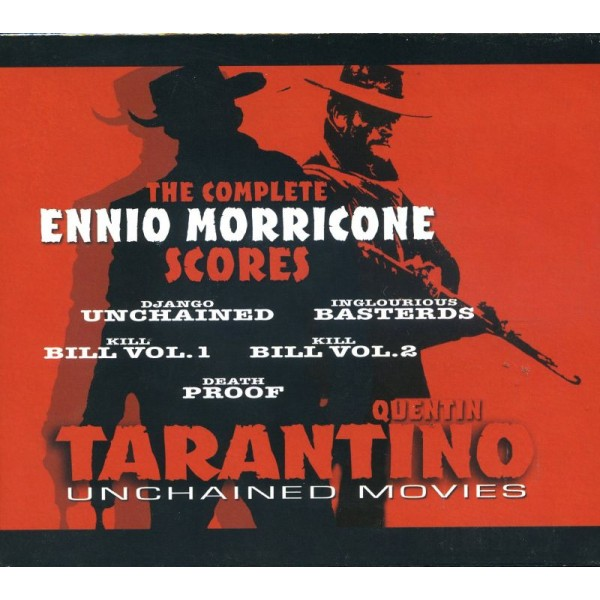 MORRICONE ENNIO - Quentin Tarantino Unchained Movies - The