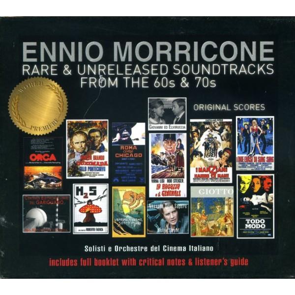 MORRICONE ENNIO - Rare & Unreleased Soundtracks From The 60s & 70s Originsl Score