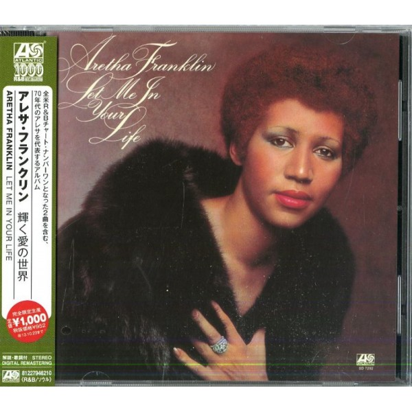 FRANKLIN ARETHA - Let Me In Your Life (japan Atlantic)