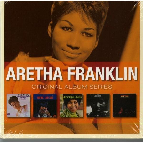FRANKLIN ARETHA - Original Album Series (box 5 Cd)