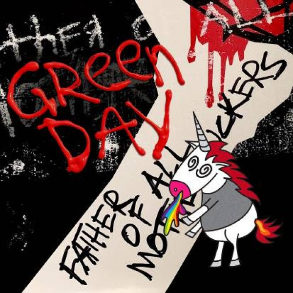 GREEN DAY - Father Of All... (red & Withe Vinyl Indie Esclisive)