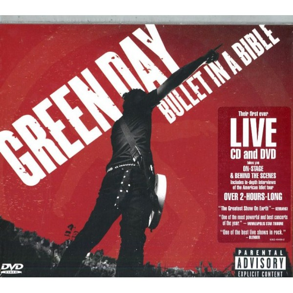 GREEN DAY - Bullet In A Bible (cd+dvd)