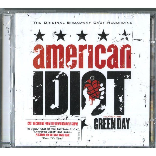 GREEN DAY - American Idiot-original Broadway Ca
