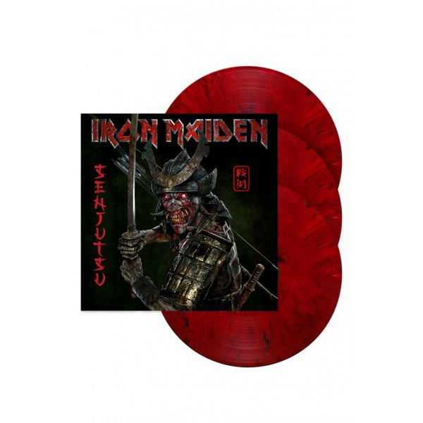 IRON MAIDEN - Senjutsu (special Edt. Vinyl Triple Red And Black Marble) (indie Exclusive)