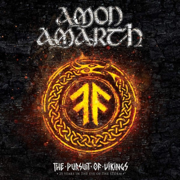 AMON AMARTH - The Pursuit Of Vikings: (cd+br. 25 Years In The Eye Of The Storm)