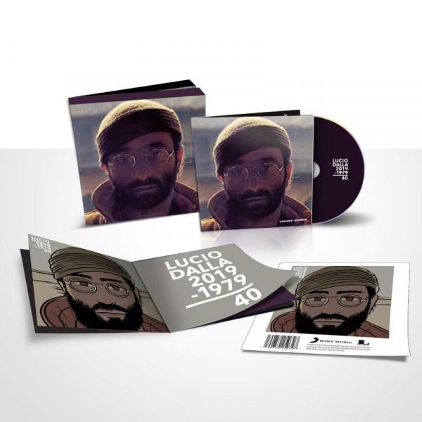 DALLA LUCIO - Lucio Dalla 40th Anniv. (remastered Illustrated Edt.+3 Bonus Track + Libretto)
