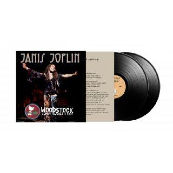 JOPLIN JANIS - Live At Woodstock Sunday August 17, 1969 (rsd 2019)