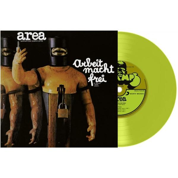 AREA - Arbeit Macht Frei (140 Gr. Vinyl Yellow)