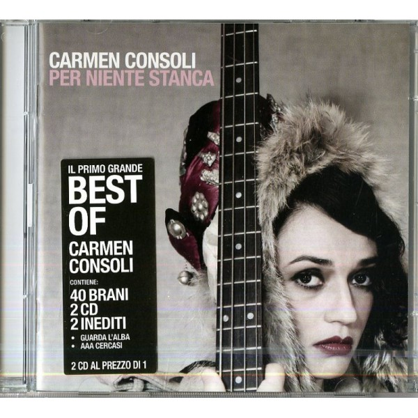 CONSOLI CARMEN - Per Niente Stanca The Best Of