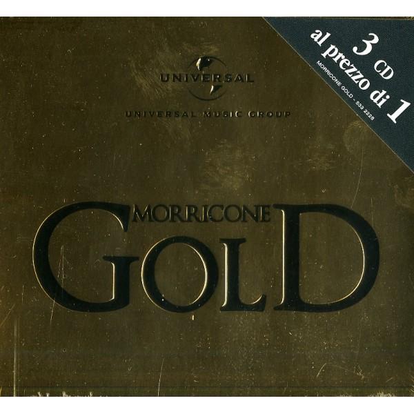 MORRICONE ENNIO - Morricone Gold Multipack (box3cd)