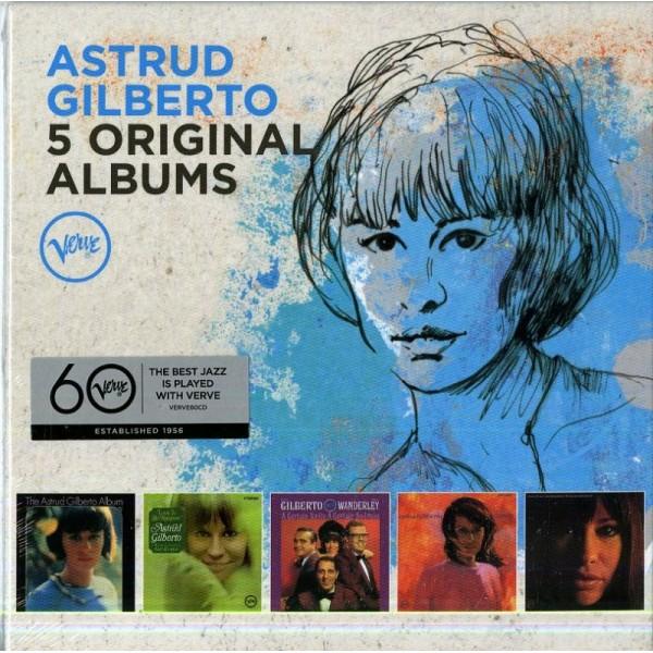 GILBERTO ASTRUD - 5 Original Albums
