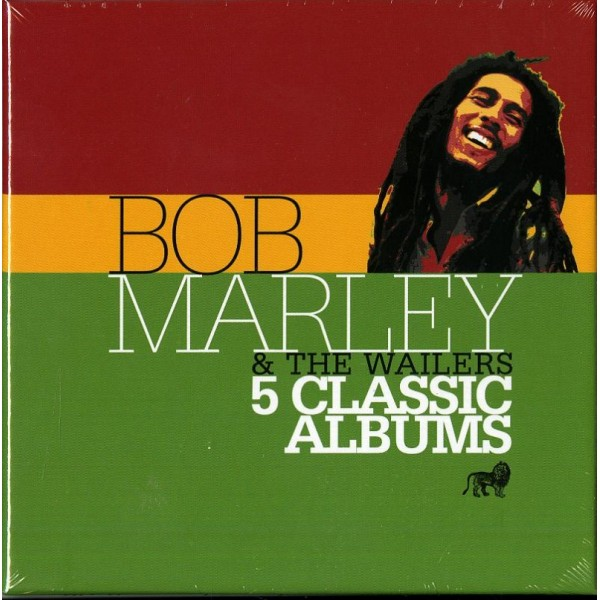 MARLEY BOB - 5 Classic Albums (box5cd)