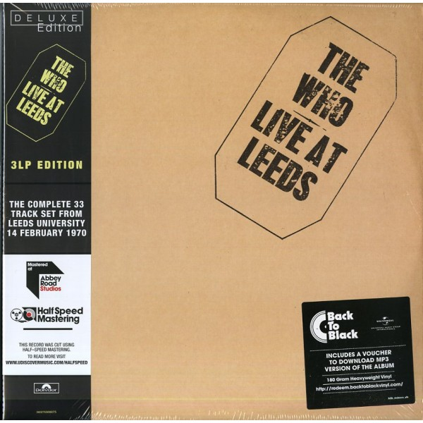 WHO THE - Live At Leeds (deluxe Edt.)