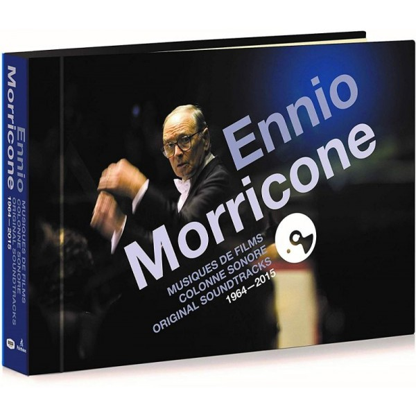 MORRICONE ENNIO - Musiche Da Film Colonne Sonore 1964 - 2015 (box 18 Cd + Libretto 48 Pg. Limited)