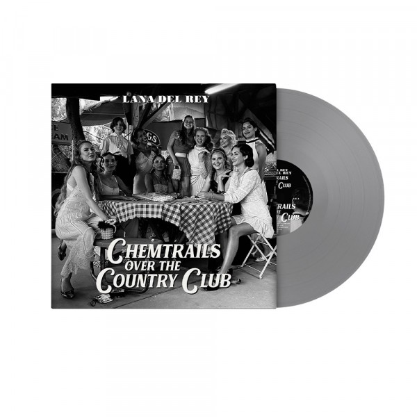 DEL REY LANA - Chemtrails Over The Country Club (vinyl Grey Limited Edt.)