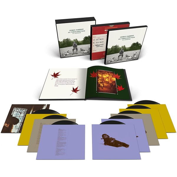 HARRISON GEORGE - All Things Must Pass 50th (180 Gr. Super Deluxe Box Set 8 Lp + Libro 60 Pg.)