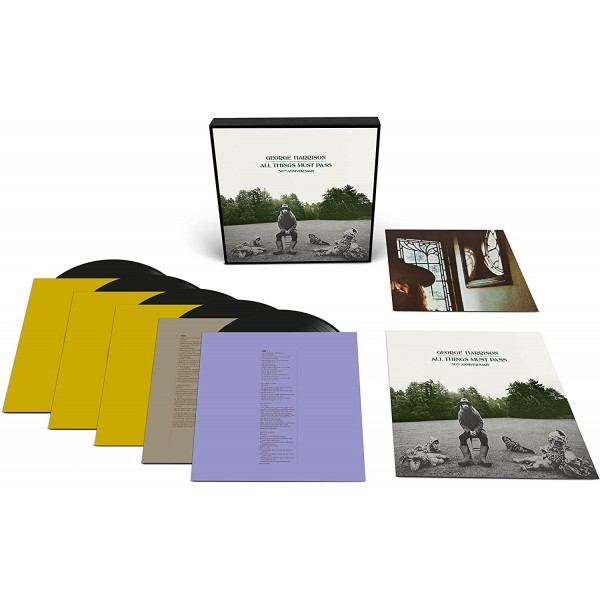 HARRISON GEORGE - All Things Must Pass 50th (deluxe Edt. 5 Lp)