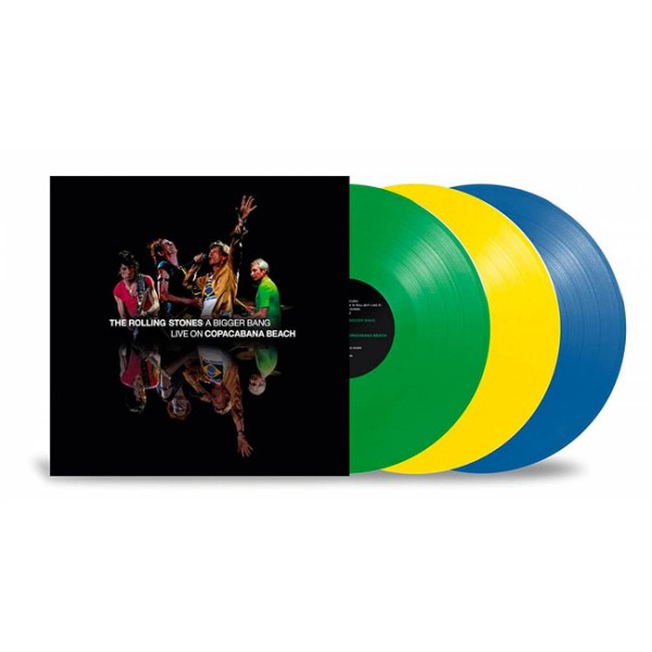 ROLLING STONES THE - A Bigger Bang Live On Copacabana Beach (vinyl Coloured)