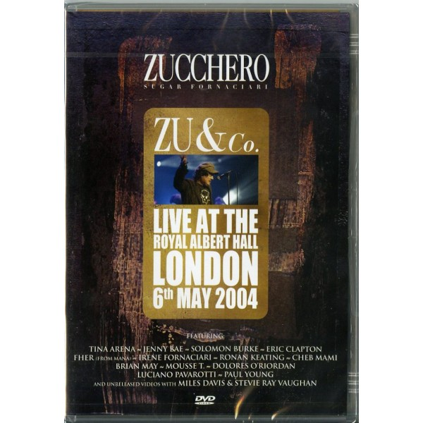 ZUCCHERO - Zu & Co Live At The Royal Albert Hall