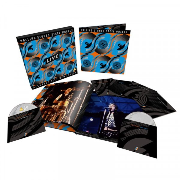 ROLLING STONES THE - Steel Wheels Live (box 3 Cd + 2dvd + B.ray Limited Edt.)