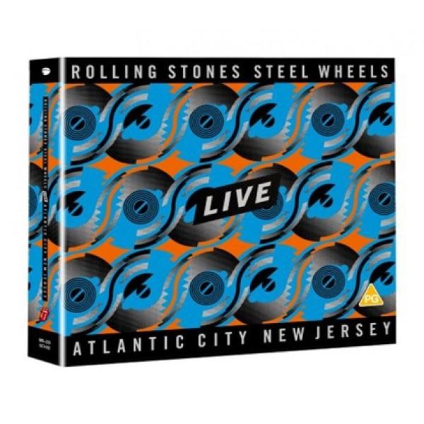ROLLING STONES THE - Steel Wheels Live (2 Cd + Dvd)