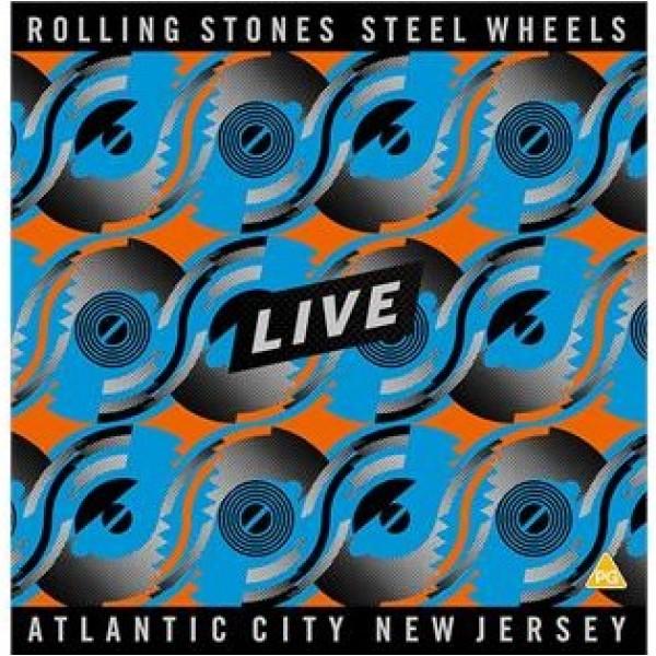 ROLLING STONES THE - Steel Wheels Live Black (box 4 Vinyl Black)
