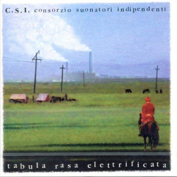 C.S.I. - Tabula Rasa Elettrificata (180 Gr. Clear Vinyl Limited Edt.)