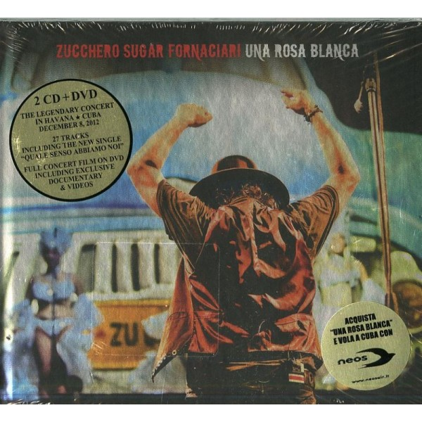 ZUCCHERO - Una Rosa Blanca (2cd+dvd)