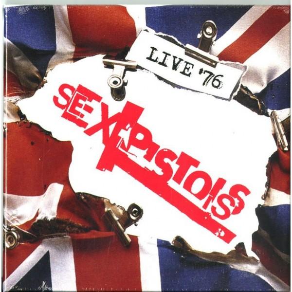SEX PISTOLS - Live 76 (box4cd)