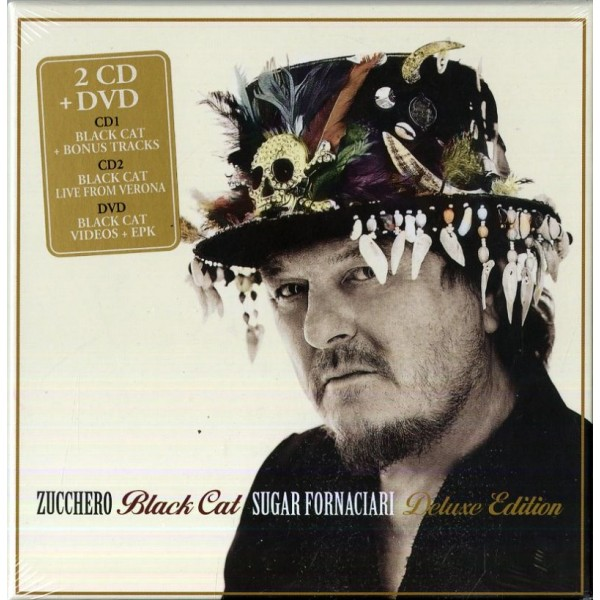 ZUCCHERO - Black Cat (deluxe Edt.)(2cd+dvd)