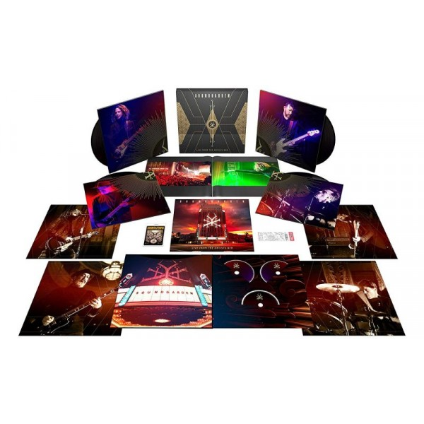 SOUNDGARDEN - Live From The Artists Den (box Ltd)