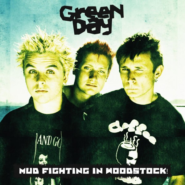 GREEN DAY - Mud Fighting In Woodstock!