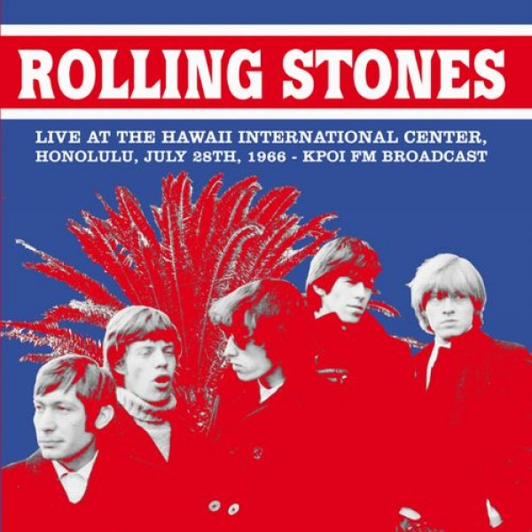 ROLLING STONES - Live At The Hawaii International Center 1966