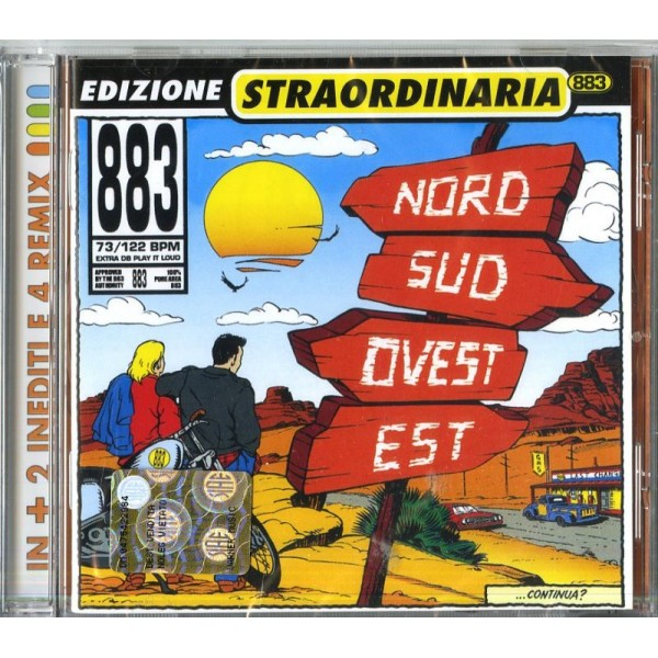 883 - Nord Sud Ovest Est