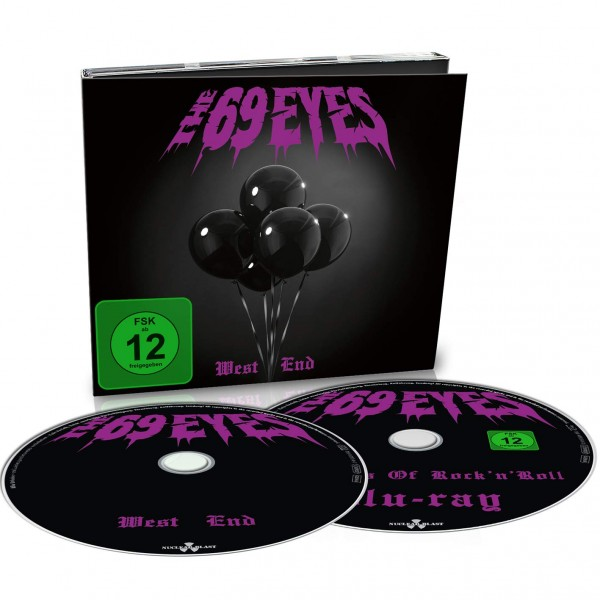 69 EYES THE - West End (digipack Cd+b.ray)