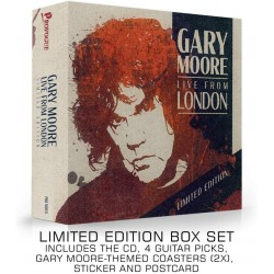 MOORE GARY - Live From London (box Set Limited Edt.)