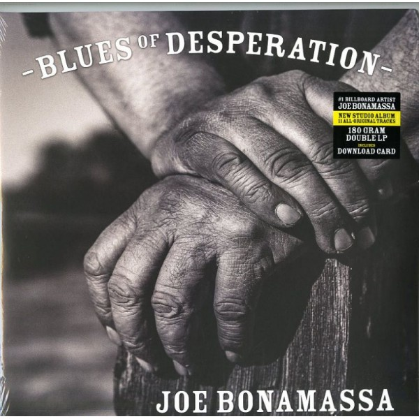 BONAMASSA JOE - Blues Of Desperation (2 Lp+mp3)
