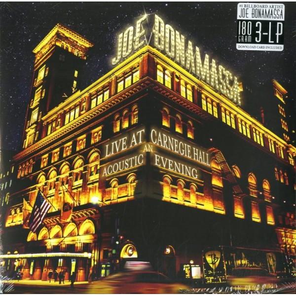 BONAMASSA JOE - Live At Carnegie Hall An Acoustic Evening (3lp+mp3)