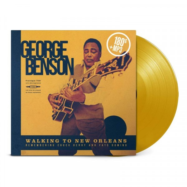 BENSON GEORGE - Walking To New Orleans Remembering Chuck Berry And Fats Domino
