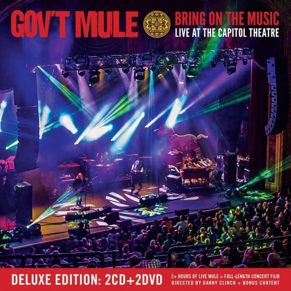 GOV'T MULE - Bring On The Music Live At The Capitol Theatre (2cd+2dvd)