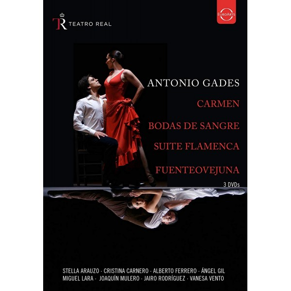 ANTONIO GADES (DANZATORE) - Spanish Dance - Antonio Gades (dvd)